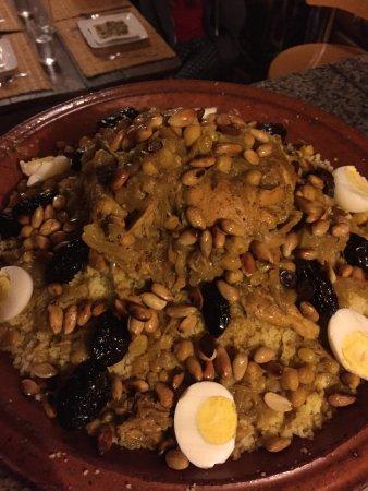 Ghazoua, Marokko: gemeinsam gekochtes Abendessen