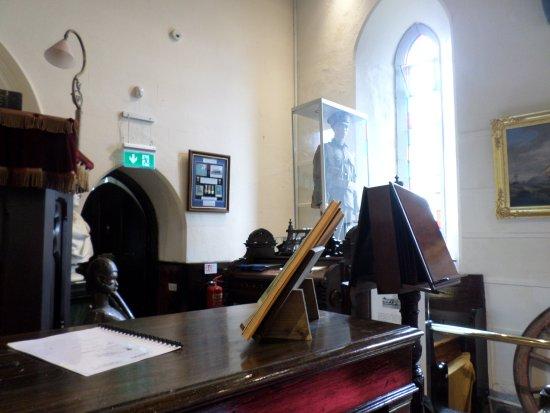 Cobh Museum: Military uniform and other memorabilia