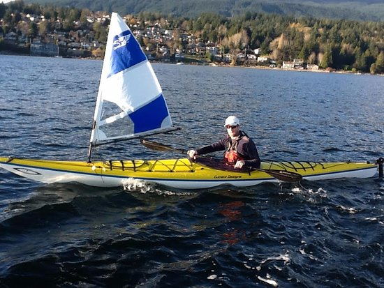 Gibsons, كندا: Sail - Kayaking