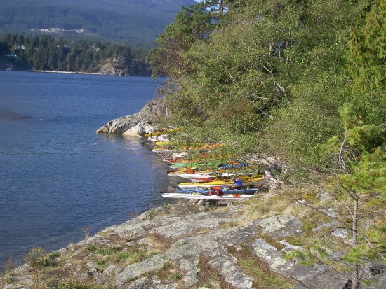 Gibsons, Canada: Keats Island in Howe Sound