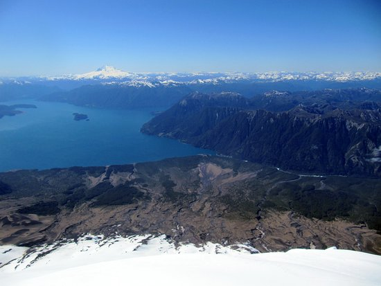 Volcan Osorno : Cima del volcan