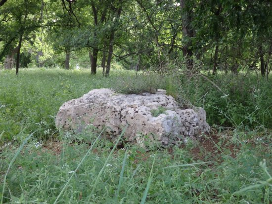 Lampasas, Τέξας: A quiet place to sit in the park.