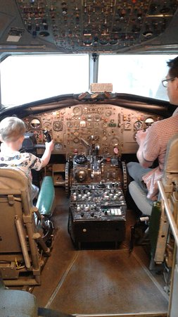 Salisbury, UK: MOD surveillance cockpit