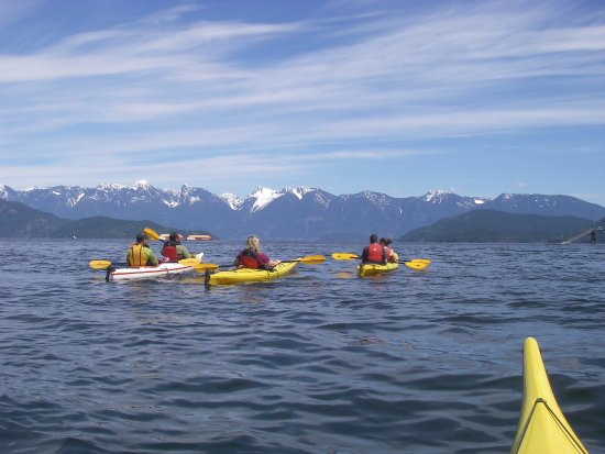 Gibsons, Canadá: Beautiful Howe Sound Kayaking