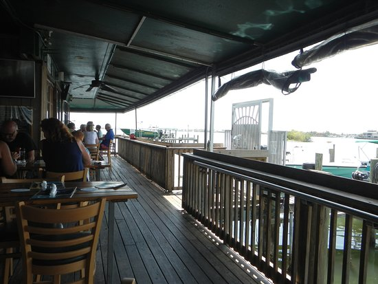 Lovely Patio Seating At Riverside Cafe, Vero Beach, FL