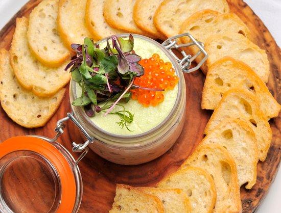 Goldener Hirsch Restaurant: Salmon Rillette