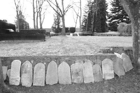 Trebic, Republika Czeska: zidovsky hrbitov