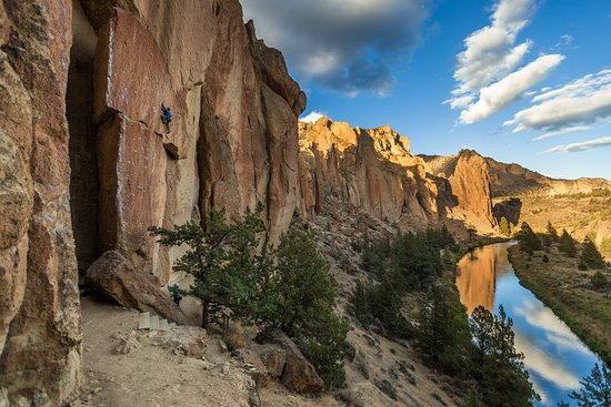 Bend, OR: Smith Rock Climbing