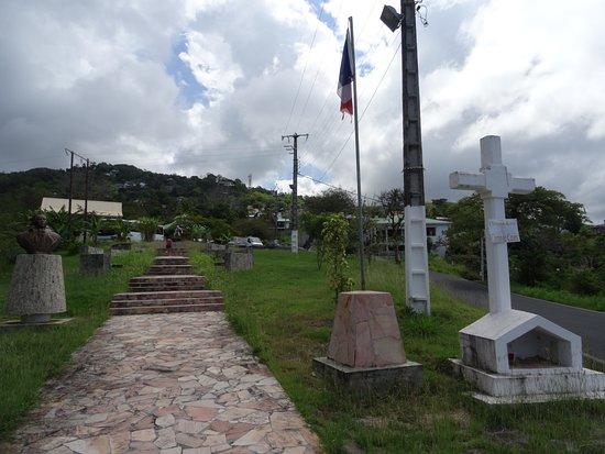 Bouillante, Guadeloupe: Parc du mémorial