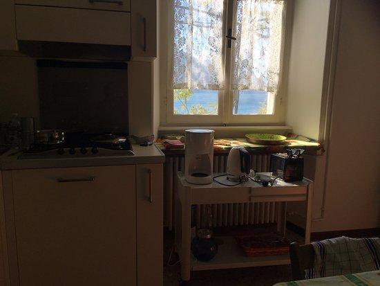 B&B Miramusi: Küche
