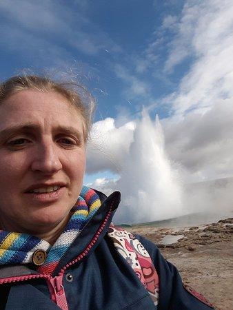 Гриндавик, Исландия: Couldn't resist a quick selfie