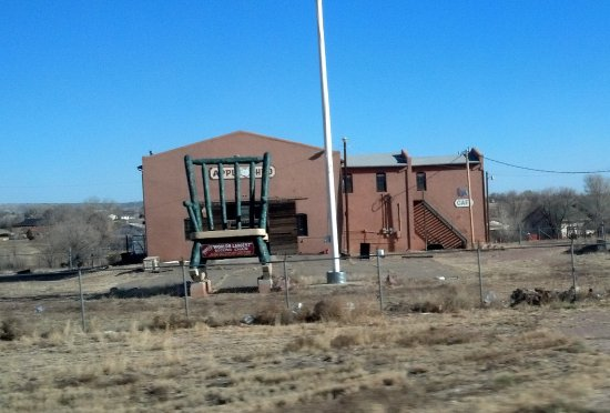 Penrose, CO: The largest rocking chair in Colorado & Former World's Largest