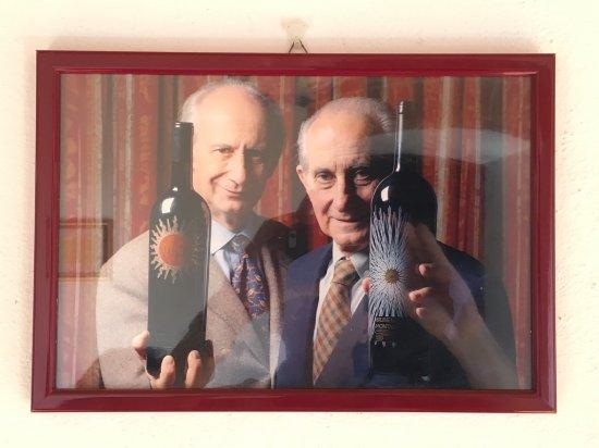 Montalcino, Italia: The two legends.