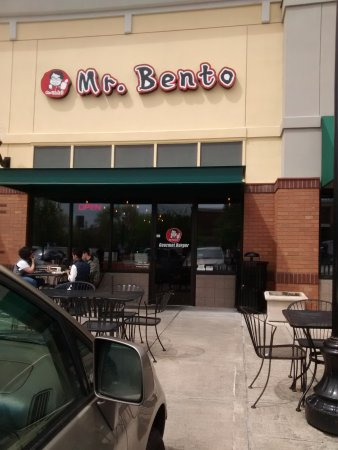 Mr. Bento Burger