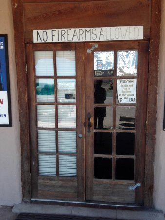 Rodeo, Nuevo Mexico: Die Eingangstür