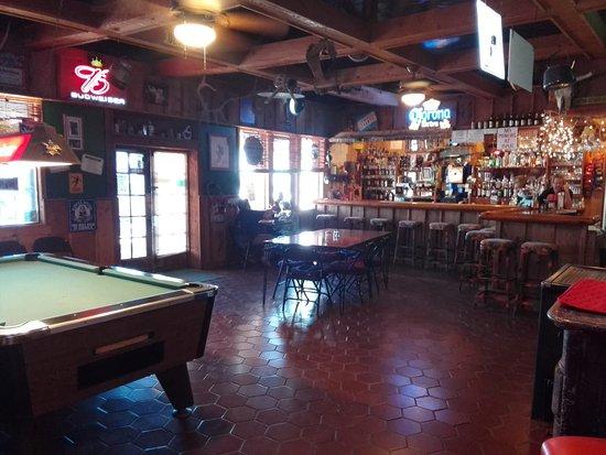 Rodeo, Nuevo Mexico: Eingangs- und Barraum