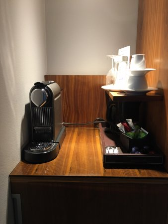 Arlandastad, Suecia: Nespresso coffee machine
