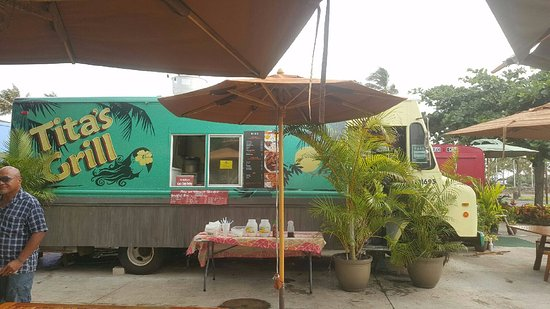Tita's Grill and Catering: Our New Food Truck located at the Polynesian Cultural Center