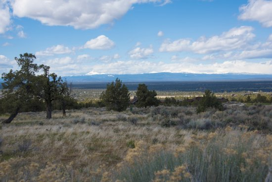 Powell Butte, OR: View from the upper part of the ranch