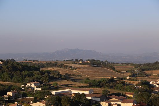 Chateauneuf-du-Pape, France: view from Pope John XXII's Castle