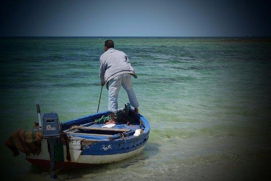 Vincci Helios Beach: Pêcheur