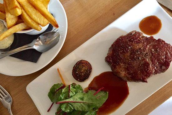 Strassen, Lussemburgo: Entrecôte Angus beef