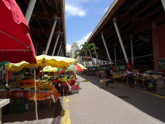 Basse-Terre, Guadeloupe: Le marché couvert