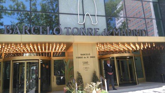 barcelo torre de madrid updated prices u hotel reviews spain tripadvisor
