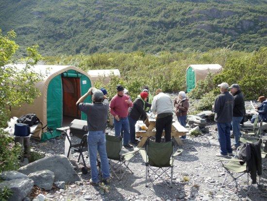 Palmer, AK: Glacier Camp