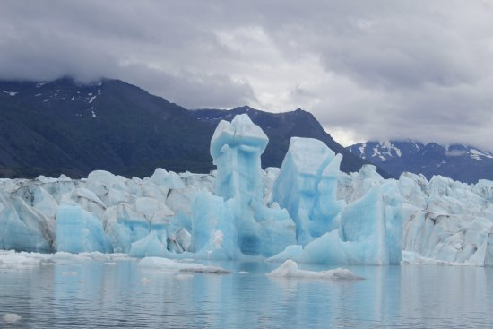Knik Glacier Tours: A big one that just fliped.