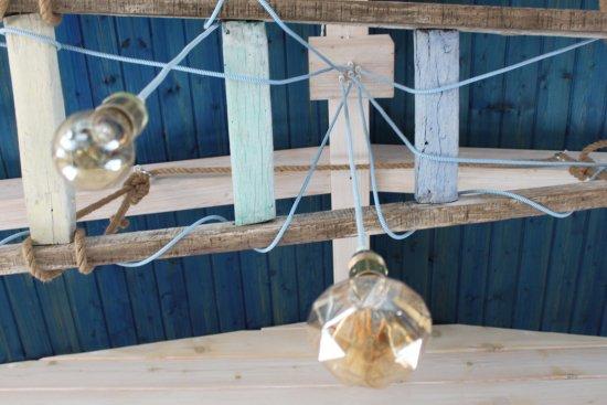 La Bruma de Zahora : Detalle de la lámpara