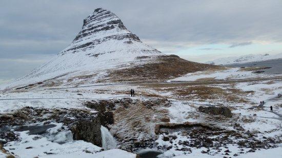 Grundarfjorour, IJsland: góra Kirkjufell