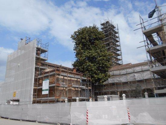 Ospedaletto Euganeo, Italia: restauro nel santuario della Madonna del Tresto