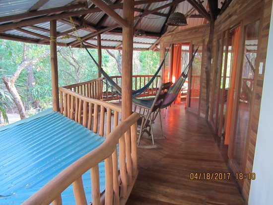 Cabuya, Costa Rica: Upstairs out side on top deck