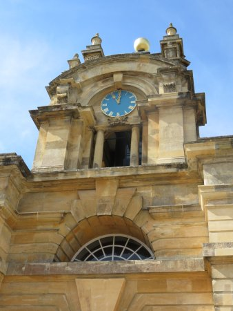 Blenheim Palace: The entrance
