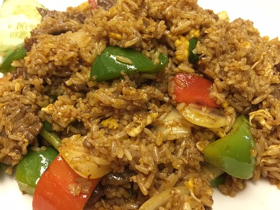 South Glastonbury, CT: Prik Pow Fried Rice