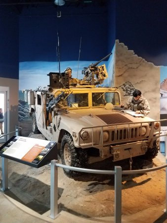 Fayetteville, Carolina del Norte: Part of the Desert Storm display