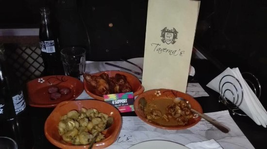 Ermesinde, Portugal: Taverna's Tapas