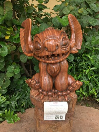 Aulani, a Disney Resort & Spa: Stitch