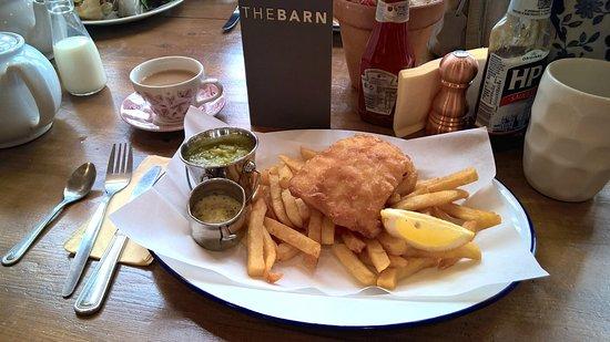 Scorton, UK: Quality fish & chips