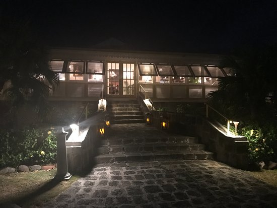 New Castle, Nevis: The Great House