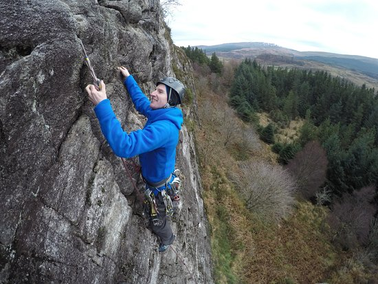 Bethesda, UK: Rock Climbing