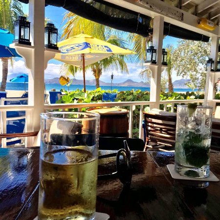 Nevis: View from the bar