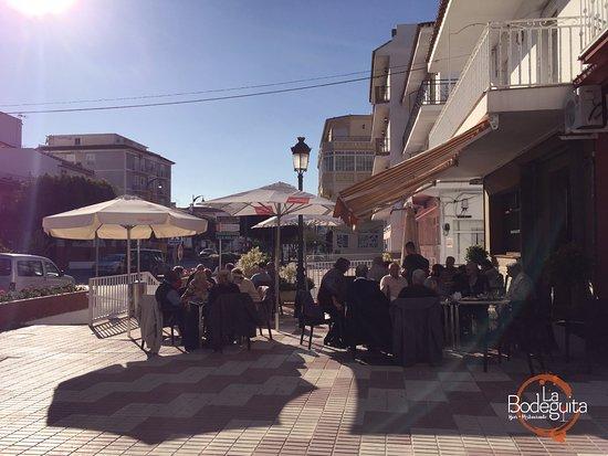 Alhaurín el Grande, España: Terraza de la Bodeguita
