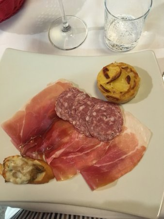 Domaso, إيطاليا: Antipasti
