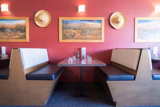 Masterton, Nueva Zelanda: Popular Booth seating