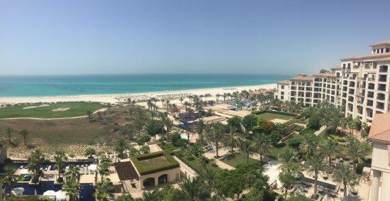 The St. Regis Saadiyat Island Resort: From the balcony! Imagine waking up to this every morning!