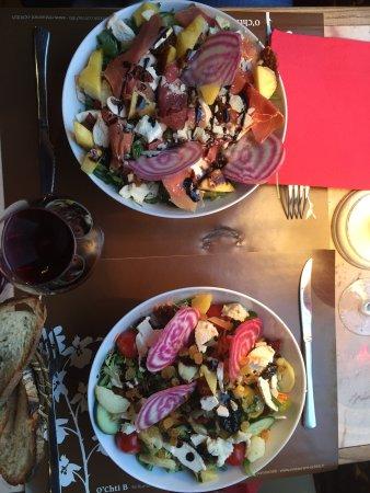O Ch'ti B : Salade à composer au gré de ses envies...