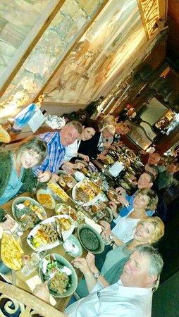 Heerlen, The Netherlands: Met een tennisteam heerlijk uit eten bij de griek.