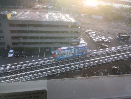 Hotel ibis budget Birmingham Airport: Monorail between airport and NEC/Birmingham International station